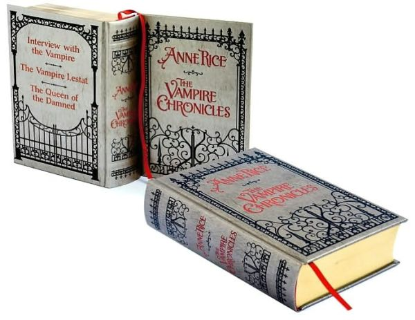 Image for The Vampire Chronicles : Interview with a Vampire + Vampire Lestat + the Queen of the Damned (Barnes & Noble Leatherbound Classics)  **SIGNED + Photo**