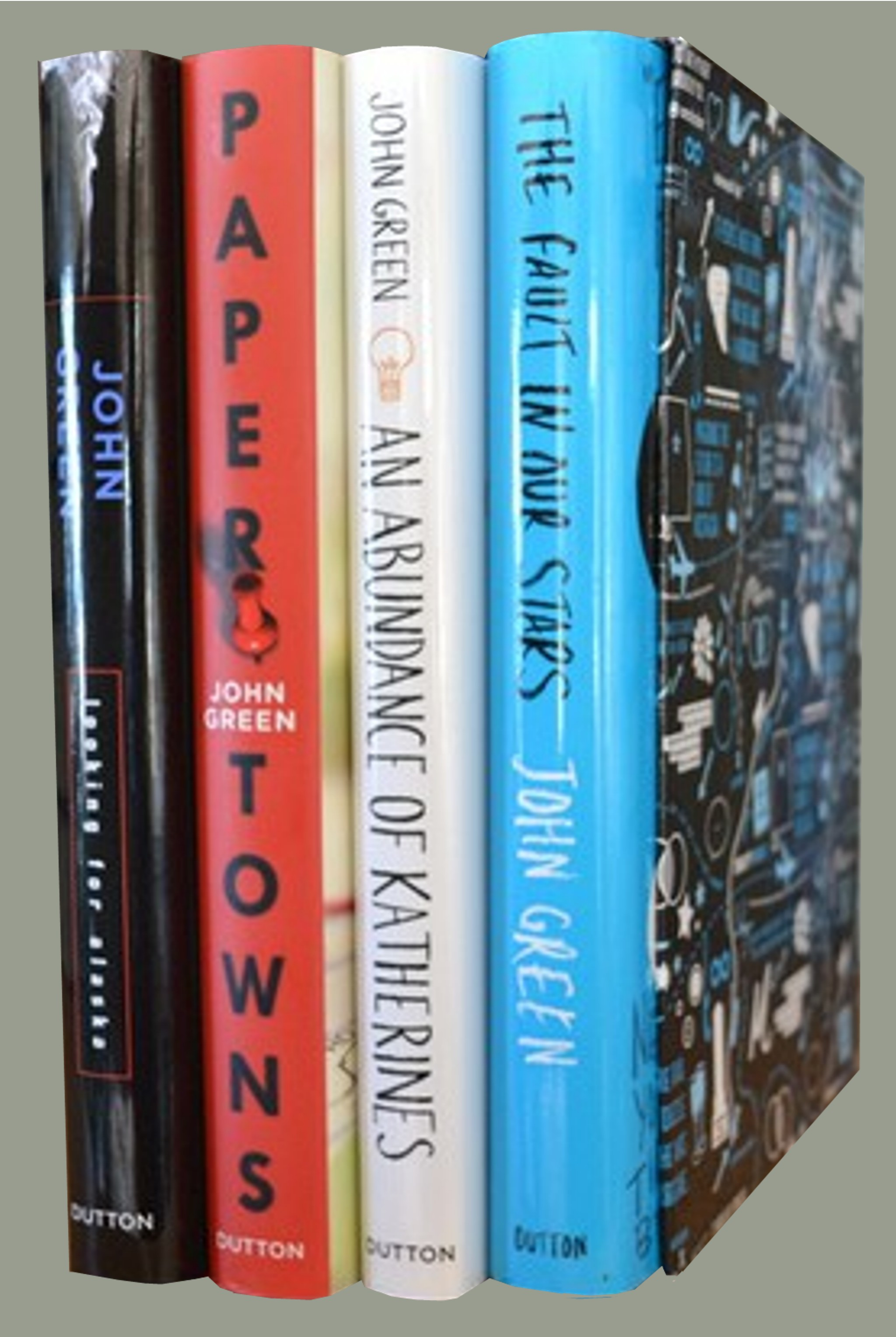 Image for John Green 4 Book Box Set   **Signed 4X + Photo** [The Fault in Our Stars, Looking for Alaska, An Abundance of Katherines, and Paper Towns]