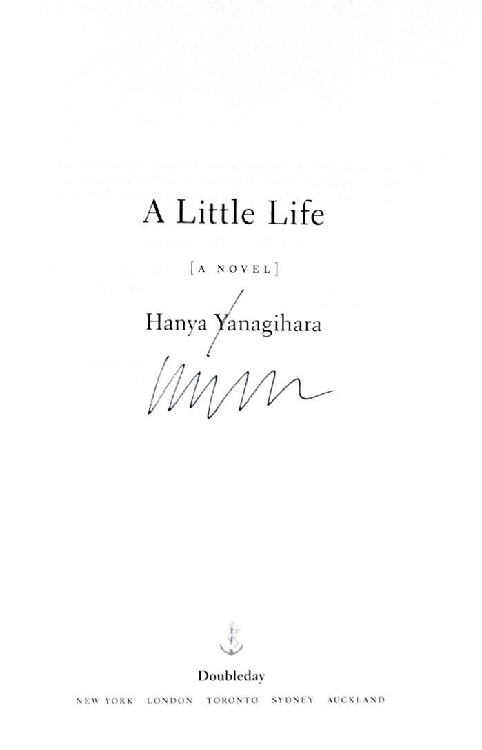 Image for A Little Life: A Novel  **SIGNED 1st U.S. Edition /1st Printing + Photo**