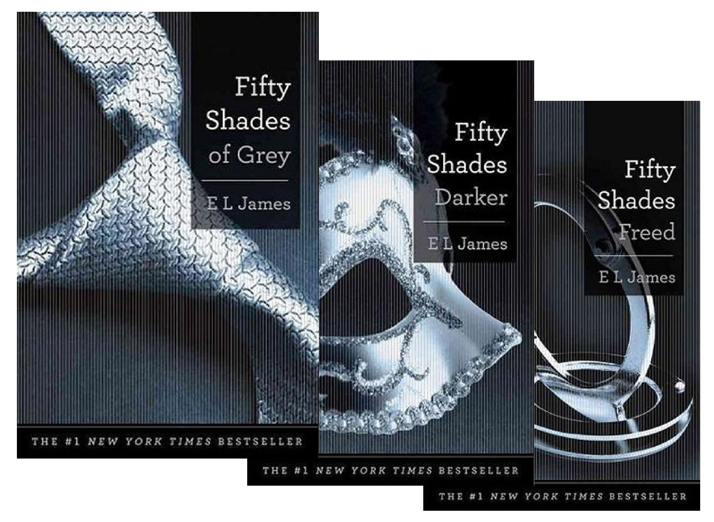 Image for 3 Book Set **Signed** (HARDCOVER) - Fifty Shades