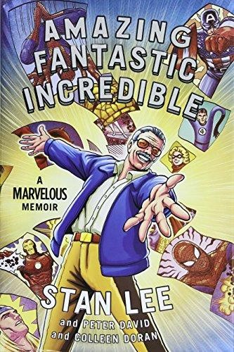 Image for Amazing Fantastic Incredible: A Marvelous Memoir **SIGNED by Stan Lee, 1st Edition /1st Printing + Photo**