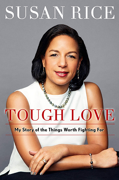 Image for Tough Love:  My Story of the things Worth Fighting For  ** SIGNED 1st Edition / 1st Printing + Photo**