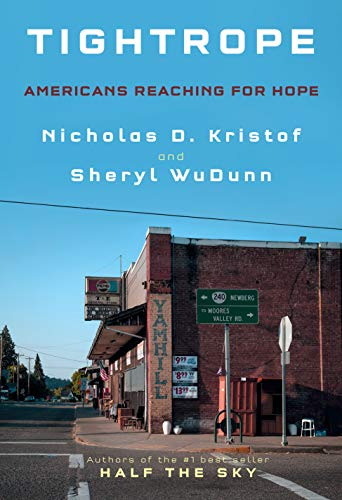 Image for Tightrope: Americans Reaching for Hope  ** SIGNED 1st Edition / 1st Printing + Photo**